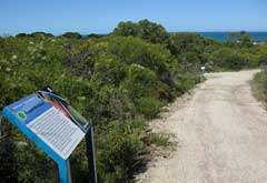 Scarborough Trigg Heritage Trail - signage and views